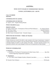 Hyde commish agenda Sept. 8, page 1.