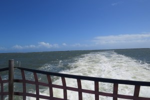 From the back of the Hatteras ferry.