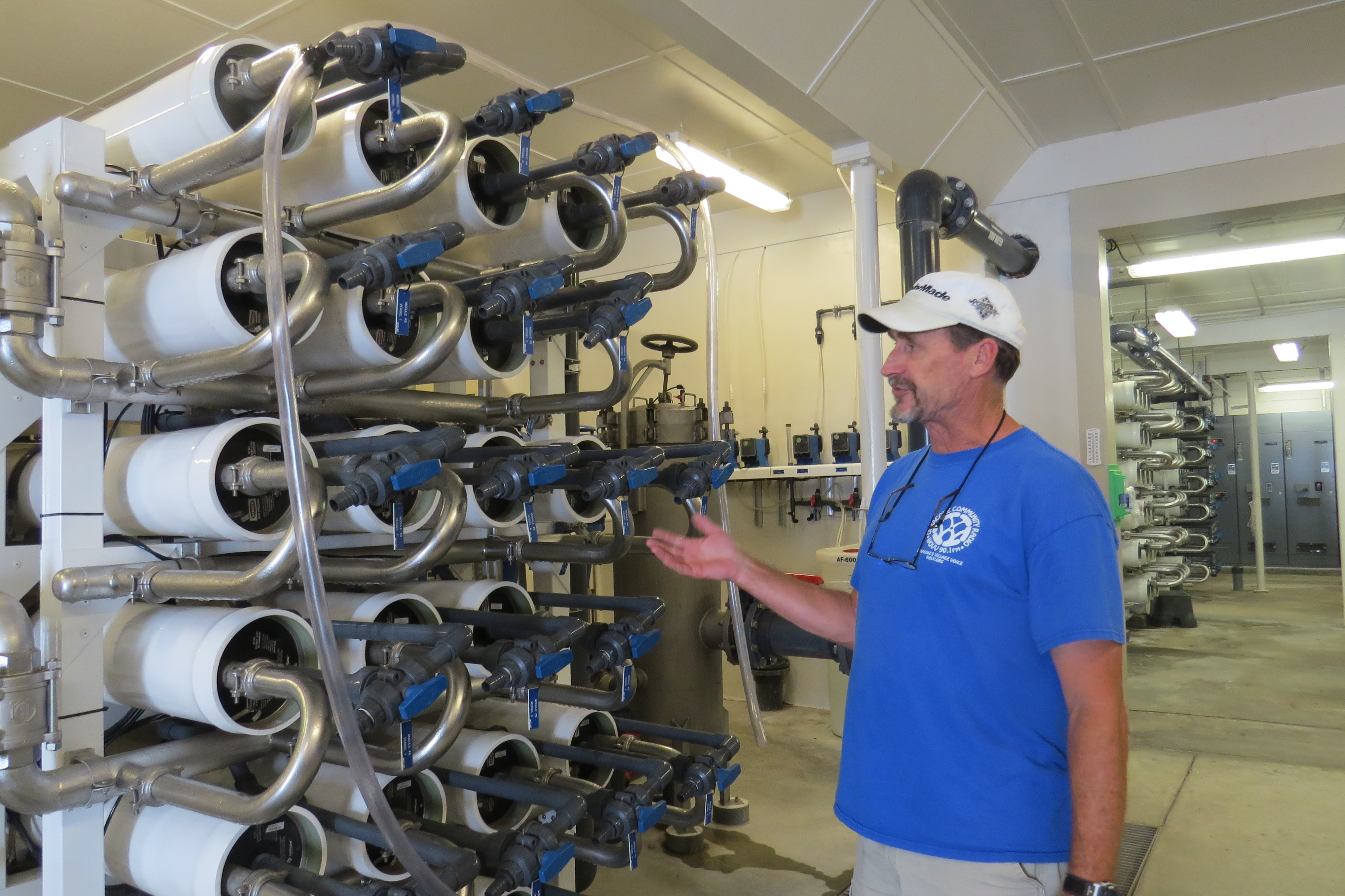 Ocracoke s water plant turning salt water to fresh