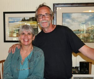 Tom Pahl with his wife, Carol. Photo by P. Vankevich