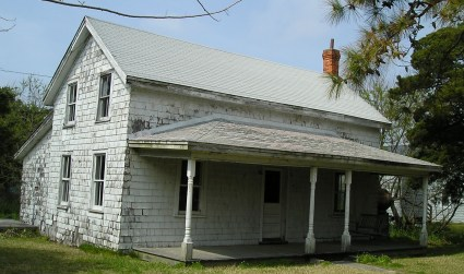 Simon and Emma O'Neal house before the recent renovation.