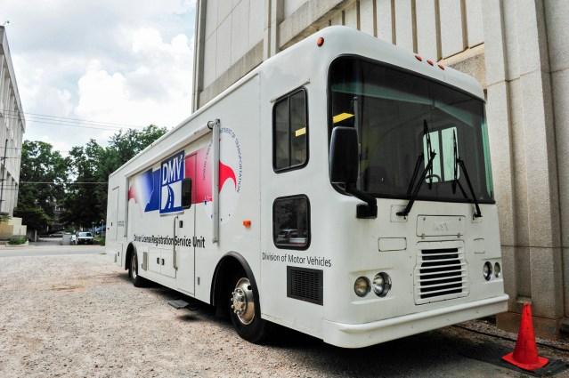 DMV mobile unit