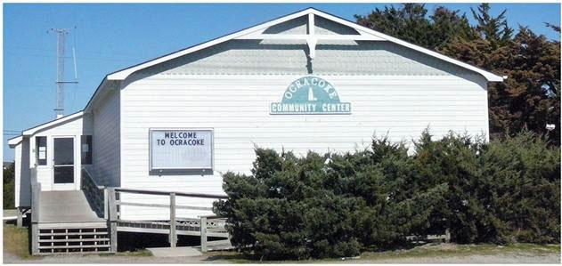 Ocracoke community center PS