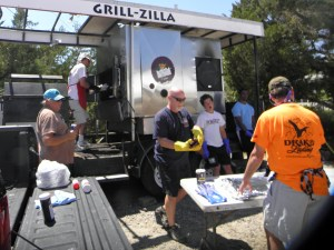 Grill Zilla is getting fired up for this year's Firemen's Ball Saturday from 5 p.m.. to midnight. All are invited to this fundraiser for the OVFD