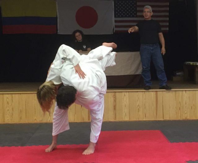 Judo demo Dec 2015