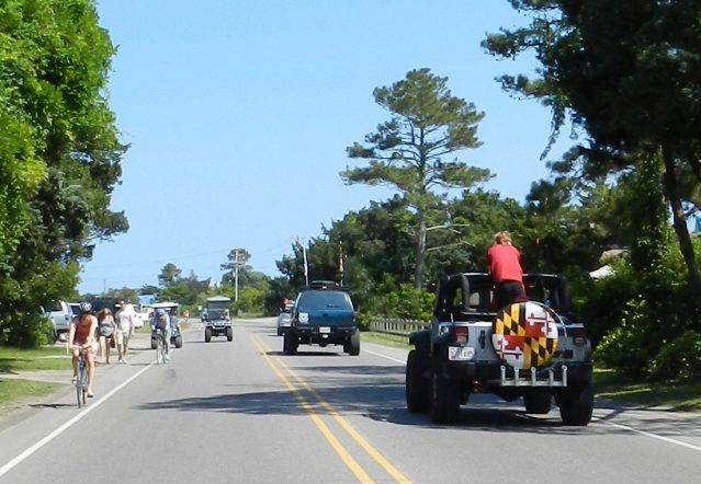 Ocracoke traffic
