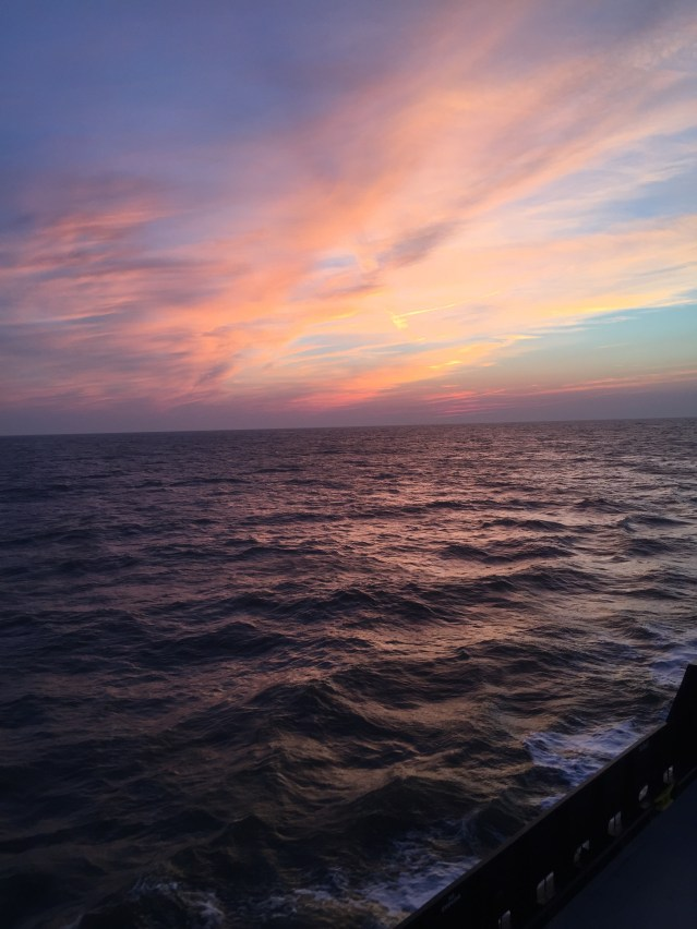 The magic of Ocracoke begins on the ferry ride. Photo: C. Leinbach