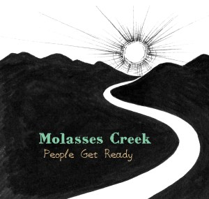 Cover art for Molasses Creek's new album was created by Kitty Mitchell.