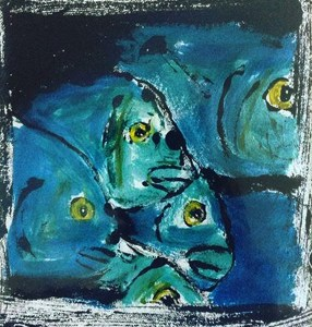New paintings and prints will be on view from 5 to 8 p.m. Wednesday during an artist's reception in Down Creek Gallery.