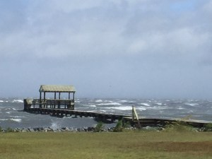 The Stormy Pamlico Sound. Photo: Ann Warner