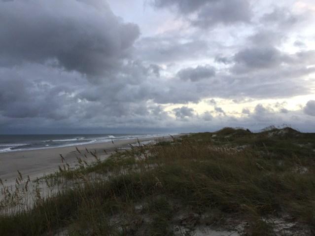 The Ocracoke Beach awaits visitors. Photo: C. Leinbach