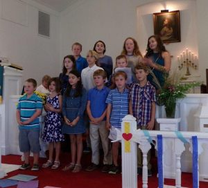 Ocracoke United Methodist Church children will lead the church service on Sunday at 11 a.m.