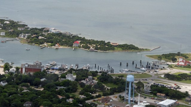 Ocracoke NC Silver Lake Harbor