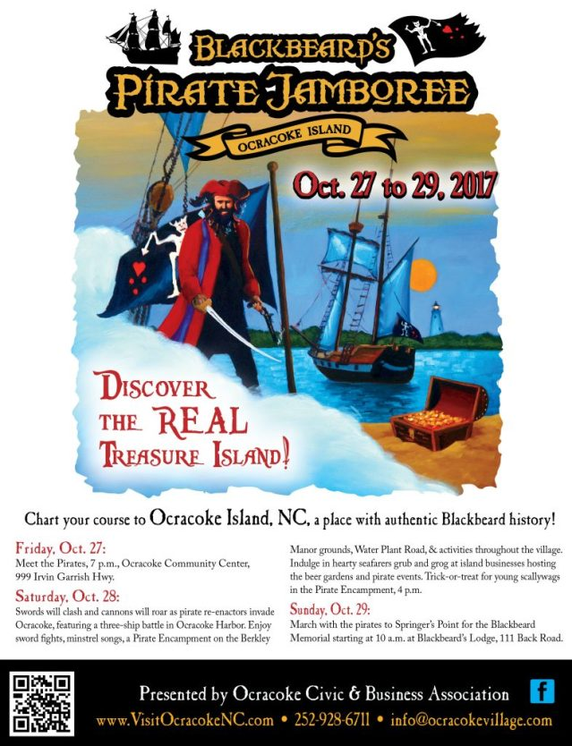 Blackbeard's Pirate Jamboree Ocracoke NC
