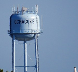 Ocracoke water tower. Photo by Peter Vankevich