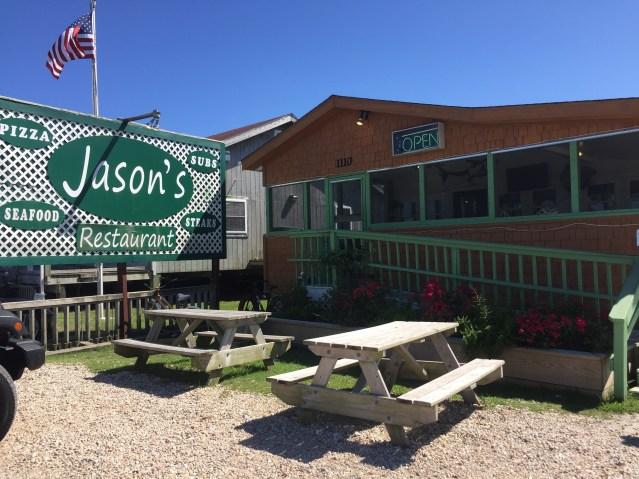 Jason's Restaurant Ocracoke, NC. Photo: C. Leinbach