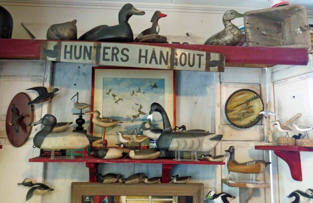 Down Point Decoy Shop on Ocracoke, N.C.