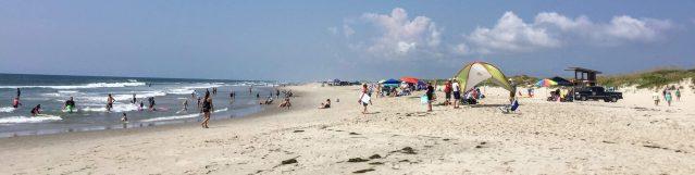 The Ocracoke, N.C., Lifeguard Beach. Photo: C. Leinbach