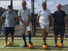 Image: Walking football - Summer 2018