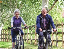 Fitness Festival over 50's cycling