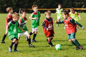Mini-football (image: Adam Riley Photgraphy)