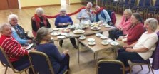 Image: Outreach Seated Exercise @ North Tawton - the important social bit + fun & skilled instructors