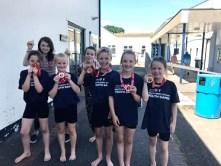 West Devon team 2018 gold medal