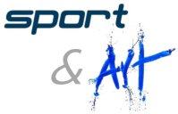 Image: sport and art logo