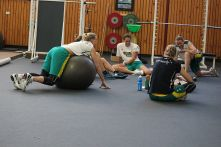 Image: Opals Circuit training - photo: Laura Hale