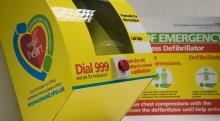 Image: Oke PADs defibrillator training