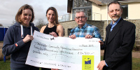 Image: OCRA OUC Cheque presentation; James Bird, Okehampton Times