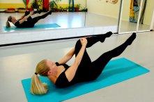 Image: Pilates-yhden-jalan-ojennus