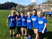 Image: Tavistock Girls XC at School Games 2019_1024_768