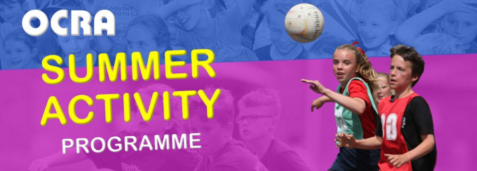Image: OCRA Summer programme 2019