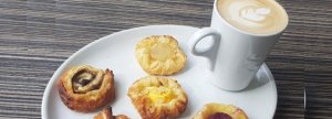 MIDWEEK MINI_DANISH OFFER A hot drink and not one but TWO mini Danish pastries for just £1.99, every Wednesday throughout the month.