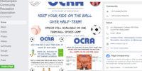 OCRA on social media