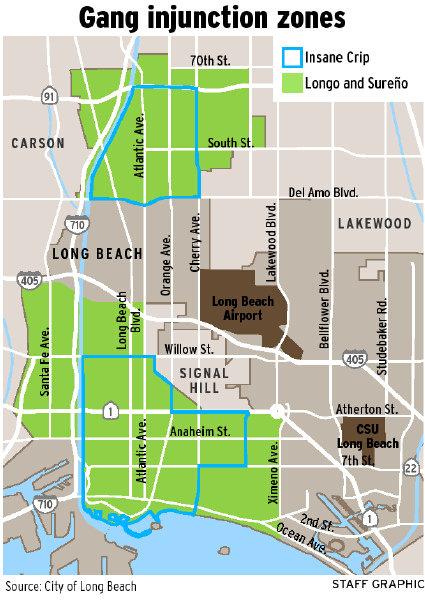 Watts Gang Map : watts, Angeles, Territory, Location, Catalog, Online
