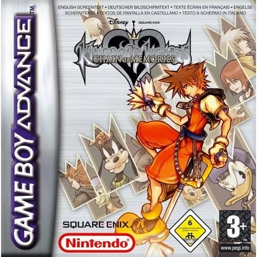 Game Kingdom Hearts Chain Of Memories Game Boy Advance