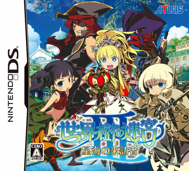 Game Etrian Odyssey III The Drowned City Nintendo DS