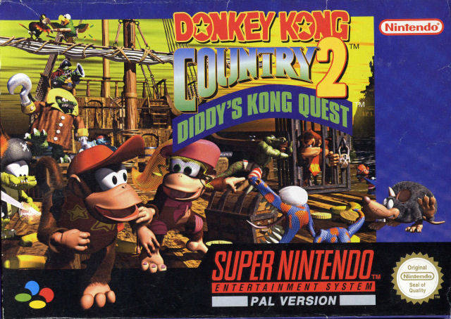 Hd Wallpaper Monsoon Game Donkey Kong Country 2 Diddy S Kong Quest Snes