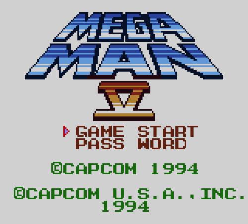 game mega man v