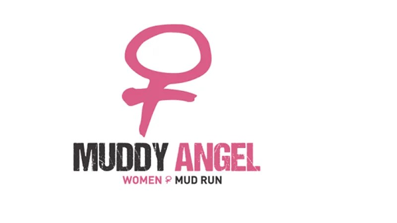 muddy angel run logo