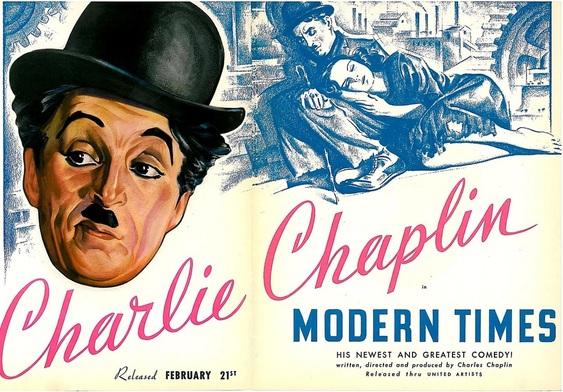 "Modern Times"" Charlie Chaplin OCR G324 Advanced Media Portfolio"