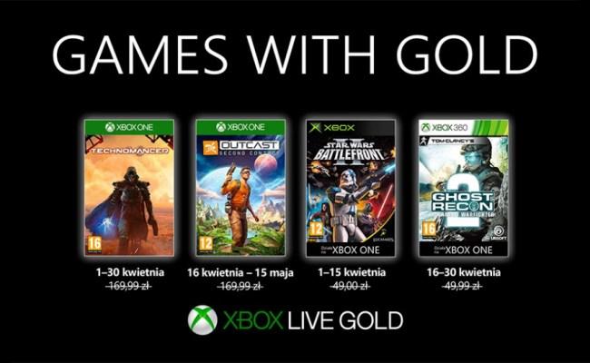 Xbox Games With Gold Na Kwiecień 2019 R Klasyka Science