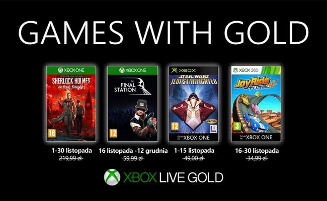 Games With Gold Na Listopad 2019 R Gwiezdne Wojny I
