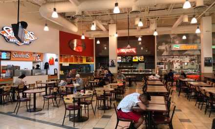 World's Most Depressing Food Court