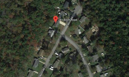 West Tuckerton: Garbage Truck Fire