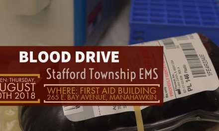 Save a Life – Win a Prize – Stafford Township EMS Blood Drive!