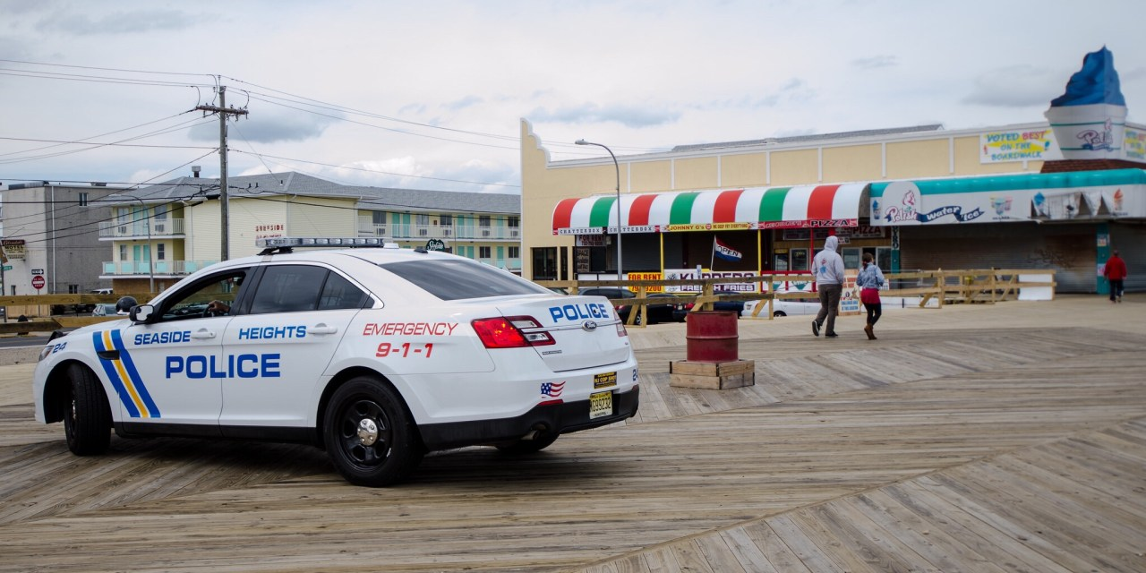 Seaside Heights: Suspicious Backpack