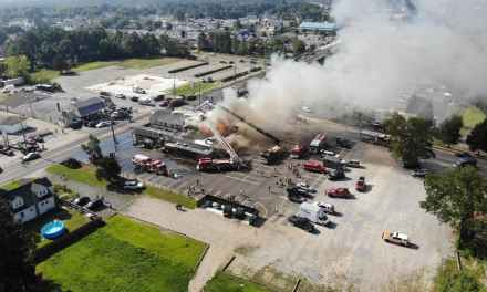 Lacey: Caffery's Fire RT 9 – Drone Footage! (STILLS)